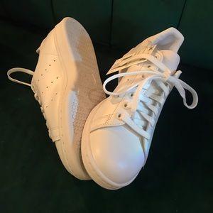 NWT Adidas Stan Smith Originals White Sneakers